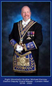 R.W.Bro. Michael Kenney